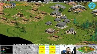AoE 22 Random Hưng Nhổn, Tiểu Màn Thầu vs HMN, Xi Măng ngày 09-11-2017