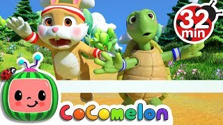 The Tortoise and the Hare | +More Nursery Rhymes & Kids Songs - ABCkidTV