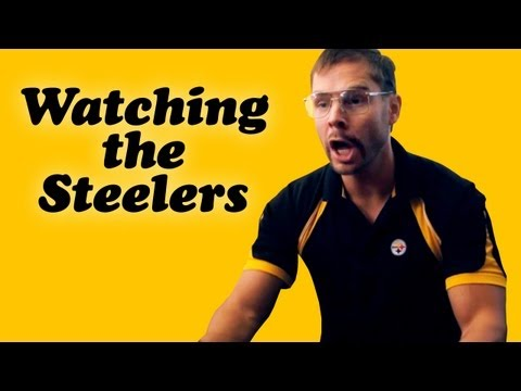 How many of YOUR dads acted this way while watching a Steeler game? Let us know your ideas and they may make it into another Pittsburgh Dad Steelers episode! Like Pgh Dad on Facebook: http://ww...