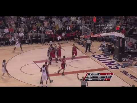 Channing Frye center 3 point mix