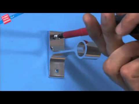 Ferretotal c mo instalar un cortinero youtube - Como hacer un techo de madera ...