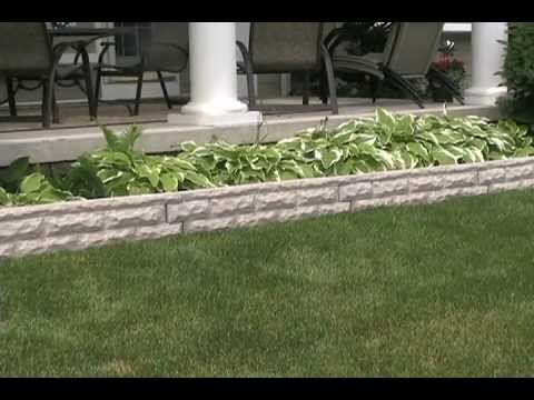 Good Ideas Garden Wizard Landscape Border Youtube