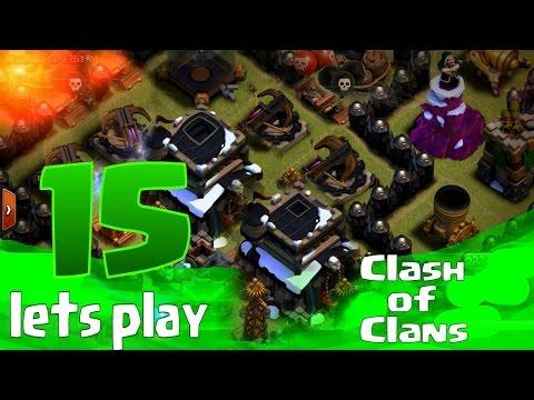 //PP// Český Let's Play Clash of Clans [#15]  - Town Hall 10 se pomaličku blíží !! + druhý účet