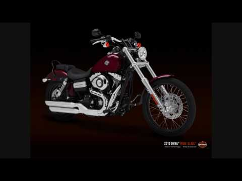 New 2010 Harley Davidson Motorcycles Video