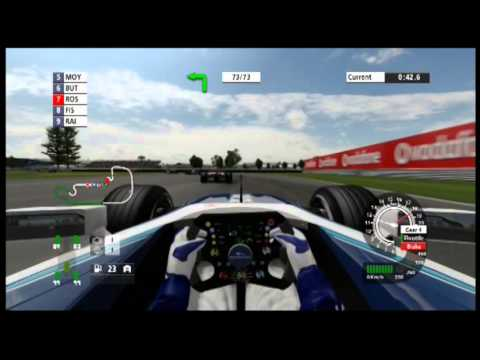 F1 Championship Edition. Nico Rosberg Onboard