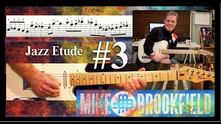 Jazz Etude #3 (Tune Up/Miles Davis) - Mike Brookfield