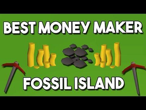 The Best Money Maker on Fossil Island! Oldschool Runescape Money Making Method [OSRS]