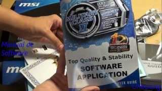 Unboxing MSI Z77A GD55