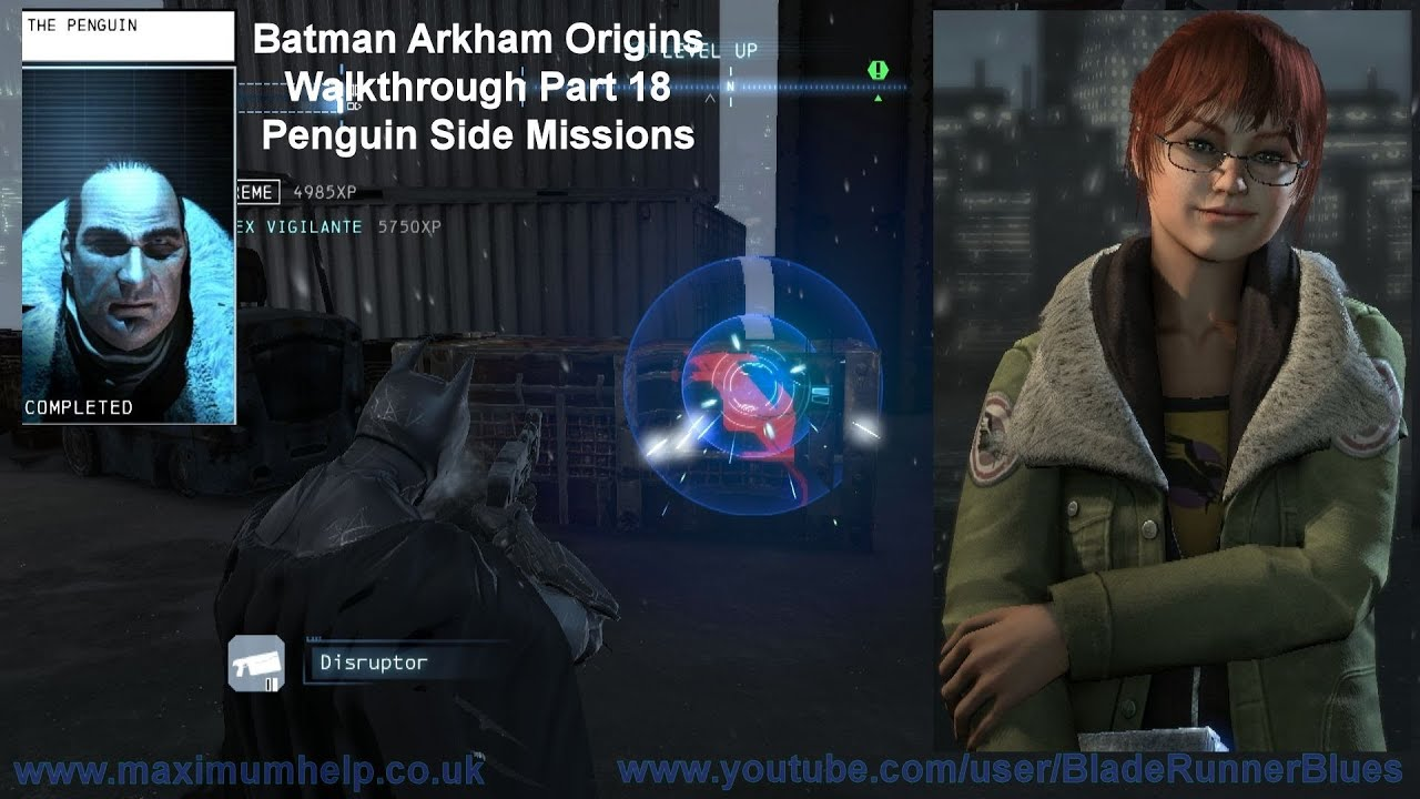 18 penguin side missions barbara gordon speaks batman