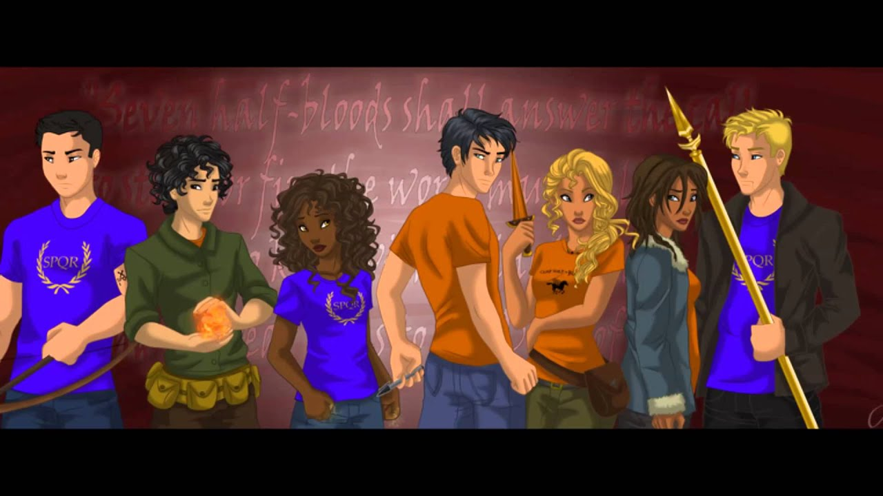 Percy Jackson Fan Art Wallpaper The Seven  amp The 2nd Great
