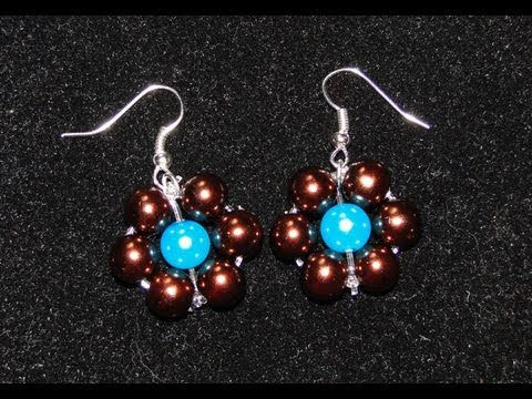Tutorial 32 • fiori di perle - how to create a flower beads