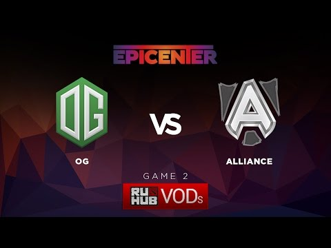 OG vs Alliance, EPICENTER Group A LB Final, Game 2