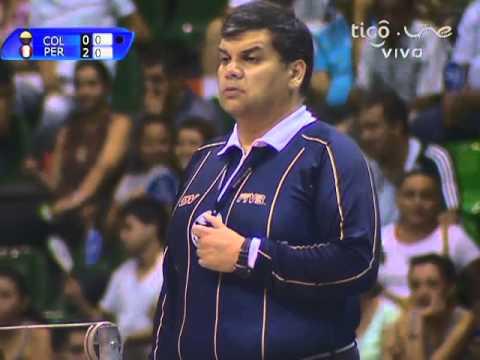 Campeonato Sudamericano de Voleibol Femenino Juvenil 2014 - Match #9: Perú vs. Colombia
