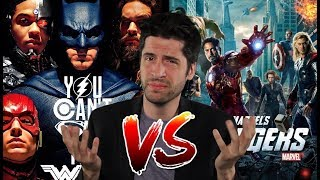 Justice League UNWATCHABLE!? DCEU vs MCU - Can't We All Get Along?