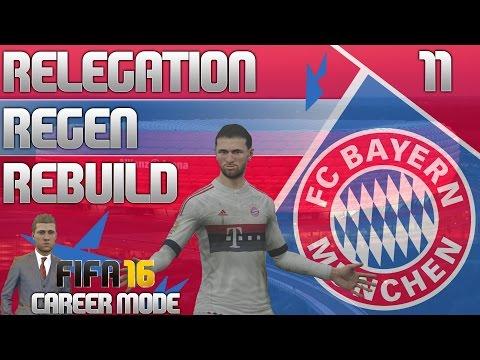 FIFA 16 Bayern Munich Career Mode - RRR - E11