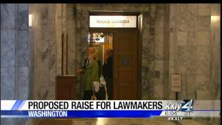 video A salary-setting board wants to boost salaries for most state lawmakers by 11.2 percent. KXLY4's Allie Norton reports.
