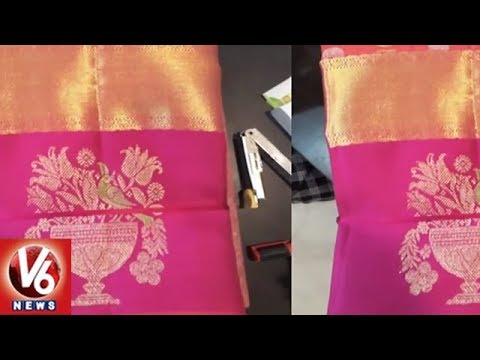 Goddess Saree Goes Missing In Vijayawada Kanaka Durga Temple   V6 News