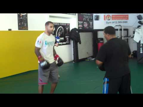 Team Link Boxing training with Pro MMA Fighters in Western Mass Image 1
