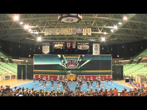 Power Cheer Calgary Junior 2 at Alberta Starz Red Deer 2013