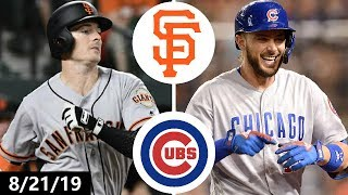Cubs & Giants Combine For 23 Runs In Wild Game | August 21, 2019 | 2019 MLB Season
