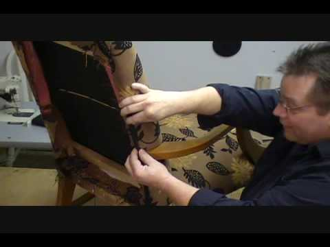 How to upholster a Chair (Part 9 of 13)