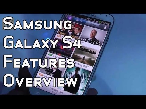 Samsung Galaxy S4 - New software features overview