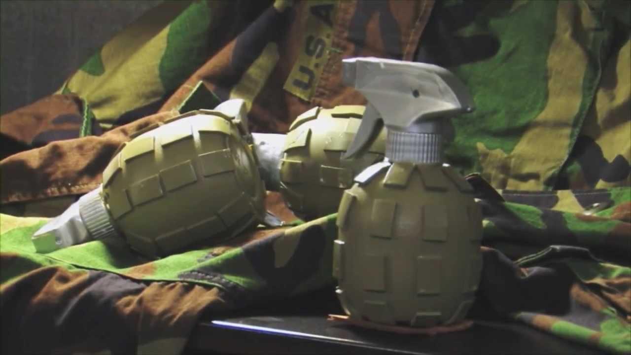 Movie explosive props