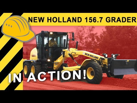 New Holland Grader 156.7 A - Produktfilm