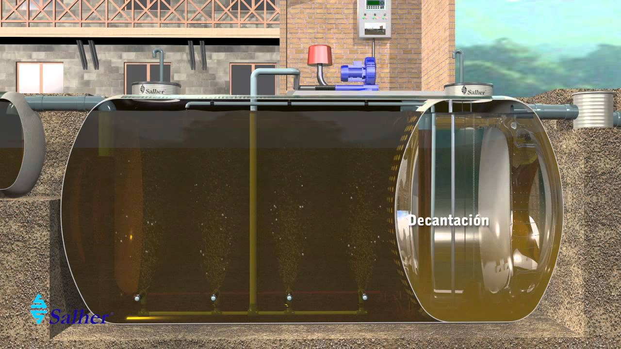 Plantas de tratamiento de aguas residuales dom sticas - Tratamiento de agua ...