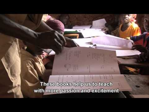 Textbooks for children in Ethiopia