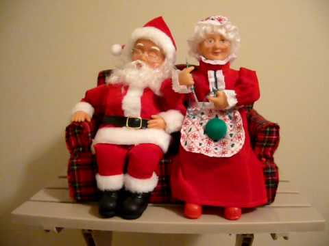 Funny Santa and Mrs Claus Video