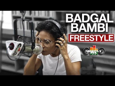 BadGal Bambi freestyles on THE FIX