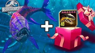 MAX LVL GILLICUS + INDORAPTOR GIVEAWAY WINNER! - Jurassic World - The Game - Ep. 164