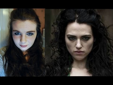 Evil Lady Morgana Hair And Makeup Tutorial Merlin Youtube