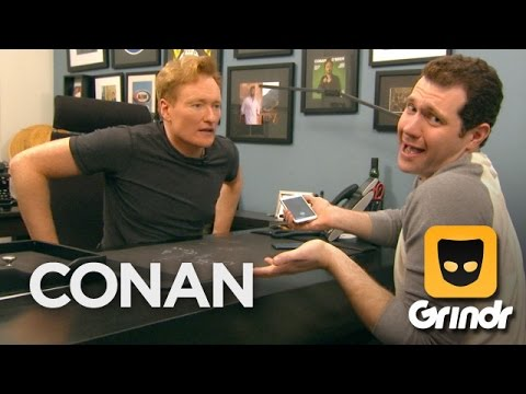 Conan & Billy Eichner Join Grindr - Conan On Tbs video