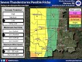 Severe Weather Update - May 16th, 2019