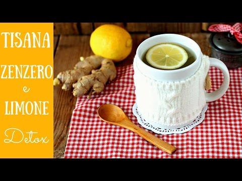 zenzero in polvere e limone