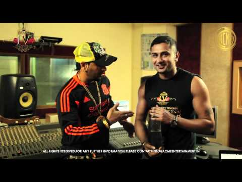 Jazzy B Talking About Yo Yo Honey Singh's International Villager video