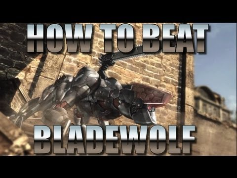 Metal Gear Rising - How to beat Bladewolf - kill IF Prototype LQ84i boss battle using parry