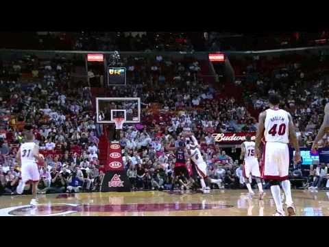 LeBron James 28 points (amazing buzzer beater) vs Toronto Raptors full highlights 18.04.2012