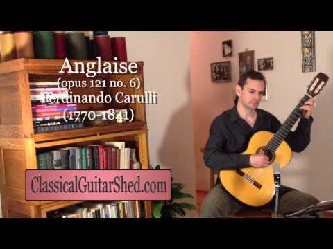 Фердинандо Карулли - Anglaise No 4 Opus 121