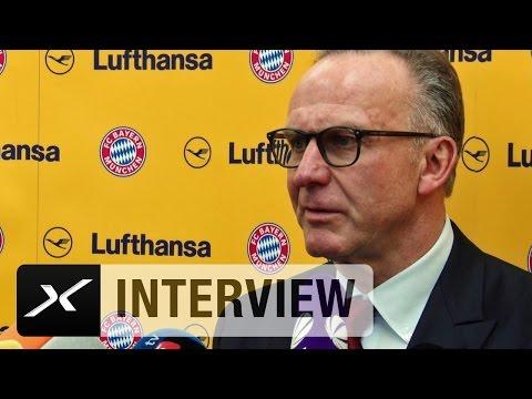 """Karl-Heinz Rummenigge: """"Mats Hummels befasst sich mit Bayern""""   Atletico Madrid - FC Bayern"""
