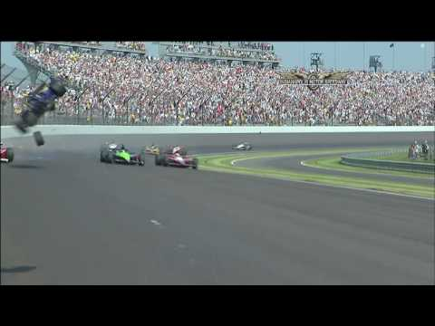 Conway Crashes In Final Lap of 2010 Indianapolis 500 Video