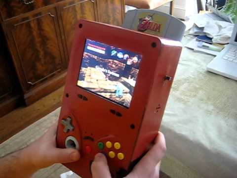 here is a portable n64 that is the approx size of the BMO