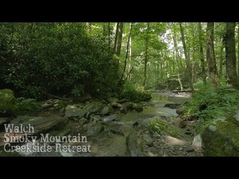 Walch Creekside Cabin Retreat - Cherokee, NC - Smoky Mountain Vacation Rental Home Accommodations
