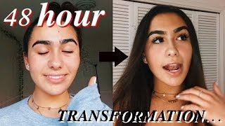EXTREME 48 HOUR GLOW-UP TRANSFORMATION...