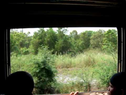 Zug von Ayutthaya nach Bangkok