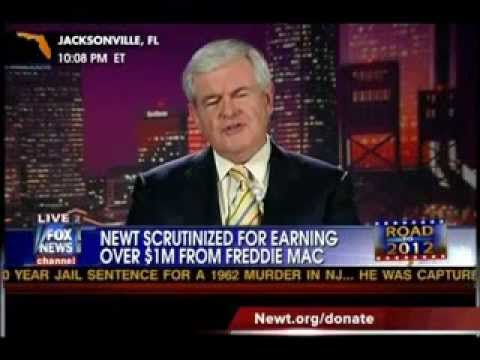 Newt Gingrich vs Ron Paul On Predicting The Economic Collapse