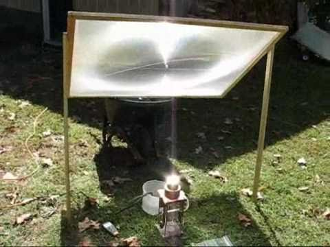 Solar Powered Home Built Stirling Engine Youtube