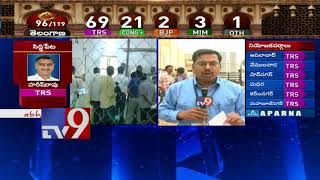 Uttam Kumar Reddy leads with slight majority in second round